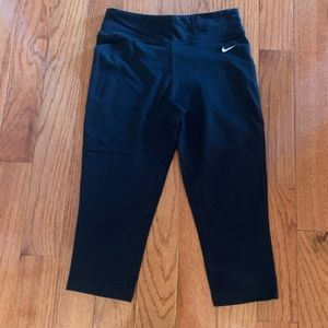 Black Nike Crop Training Pants